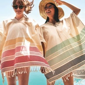 Tribe Alive coverup poncho one size